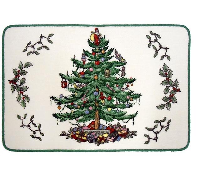 Коврики для ванной Коврик для ванной 56x86 Avanti Spode Christmas Tree elitnyy-kovrik-dlya-vannoy-spode-christmas-tree-ot-avanti-ssha-indiya.jpg