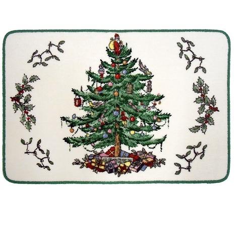 Элитный коврик для ванной Spode Christmas Tree от Avanti