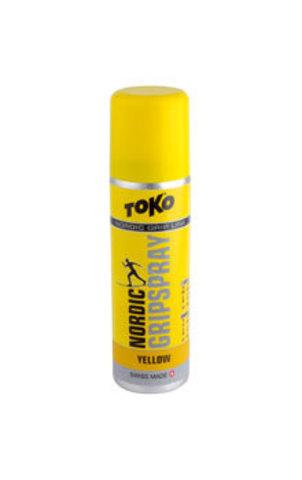 мазь лыжная Toko Grip Line спрей,желтая , 0°С/-2°, 70мл
