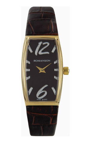 Купить Наручные часы Romanson RL2635LGBROWN по доступной цене