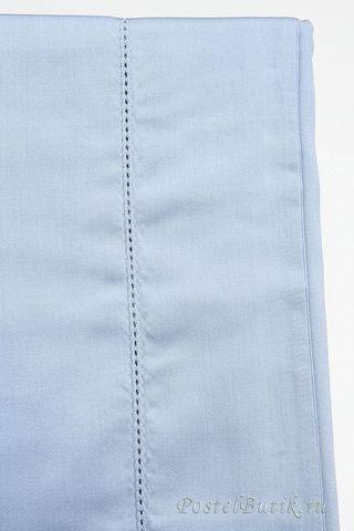 Наволочки 2шт 50х70 Caleffi Tinta Unita серо-голубые