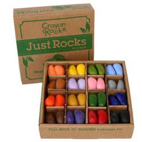 Мелки-камушки восковые, 64 штуки (Crayon Rocks)