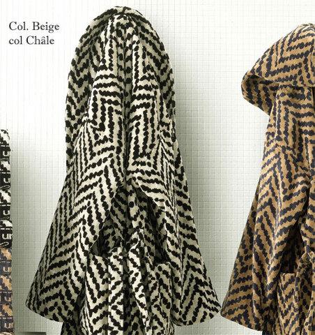Элитный халат велюровый Chevron от Emanuel Ungaro