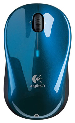LOGITECH V470 Cordless Laser Mouse Bluetooth for Notebooks blue