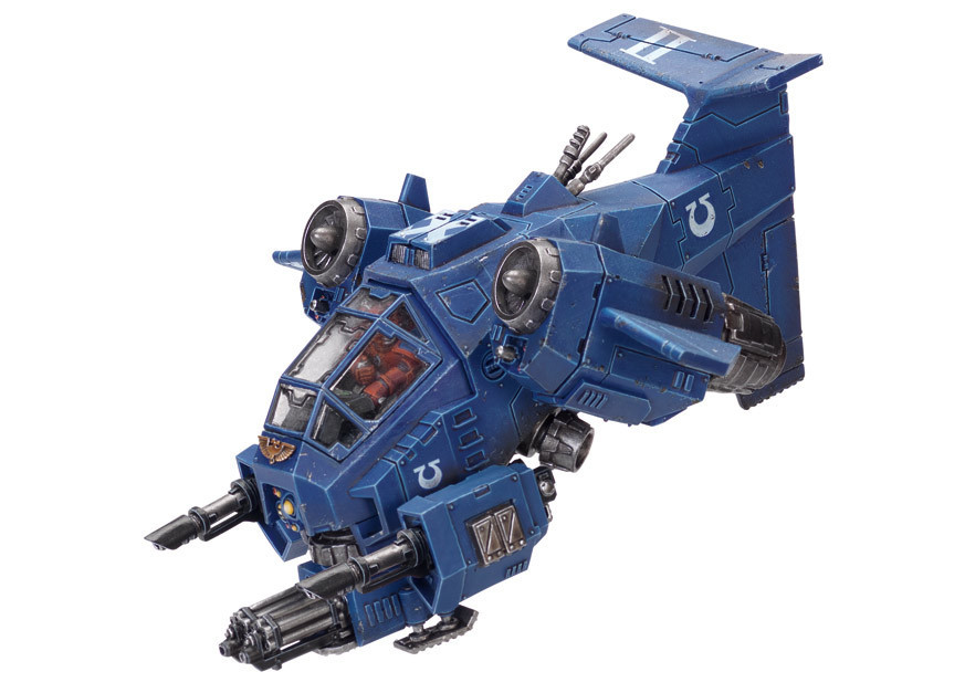 Space Marine Stormtalon Gunship