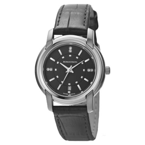 Купить Наручные часы Romanson TL2654LWBK по доступной цене