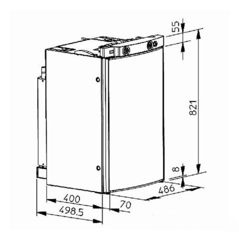 Автохолодильник Dometic RM 8401