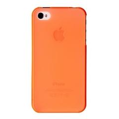 Накладка пластиковая Xinbo для iPhone 4 / 4s ультратонкая ОРАНЖЕВАЯ
