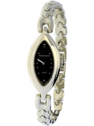 Купить Наручные часы Romanson RM0345LWBK по доступной цене