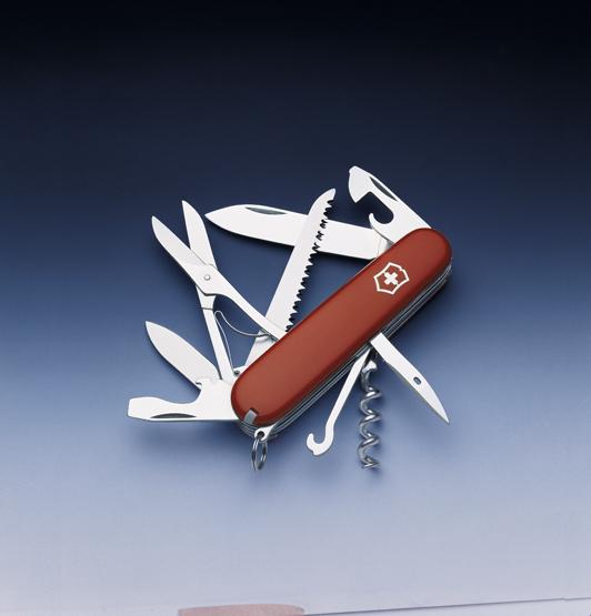 Швейцарский нож Victorinox Huntsman красный (1.3713)