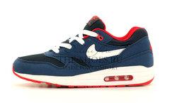 Кроссовки Мужские Nike Air Max 87 Dk Blue Red White