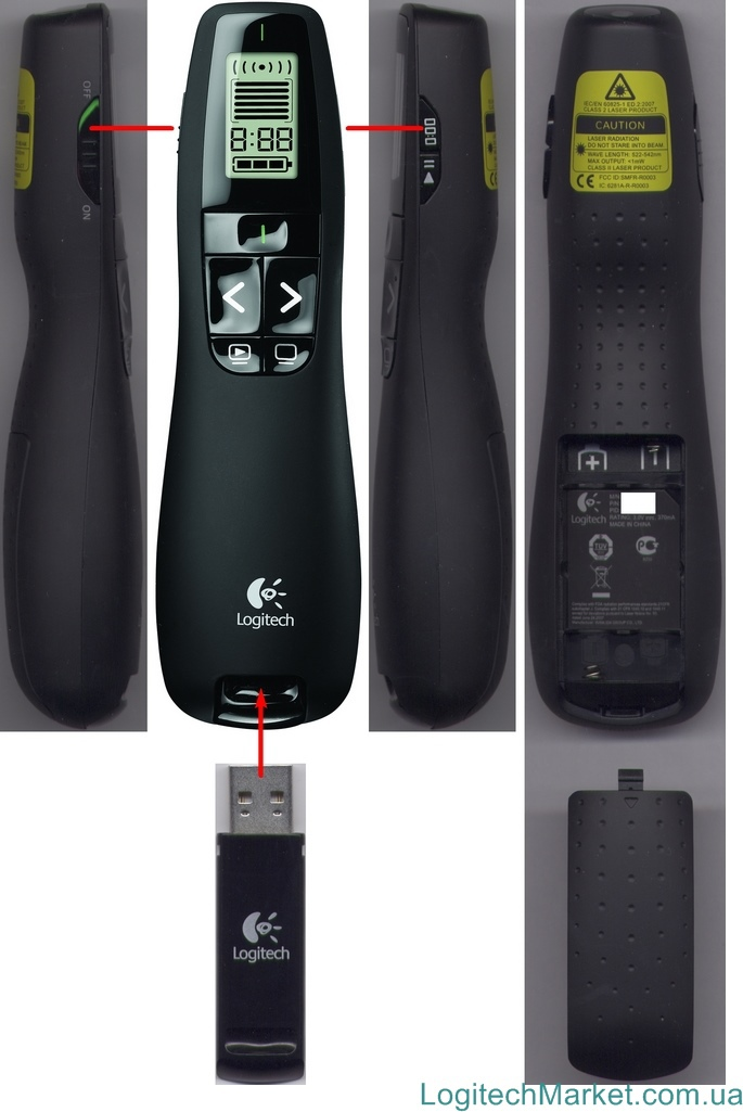 LOGITECH R700 Professional Presenter