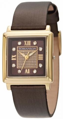 Купить Наручные часы Romanson RL1242LGBROWN по доступной цене