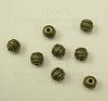 Бусина металлическая - спейсер (цвет - античная бронза ) 6х5 мм, 10 штук ()
