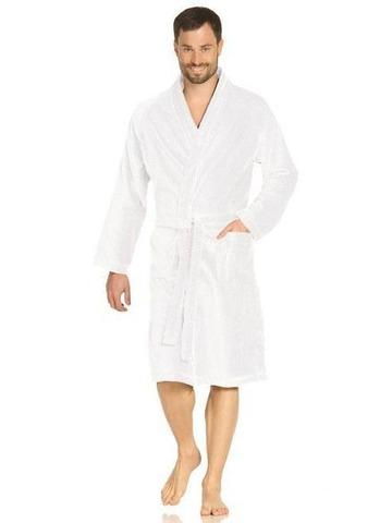 Элитный халат махрово-велюровый Toronto white от Vossen