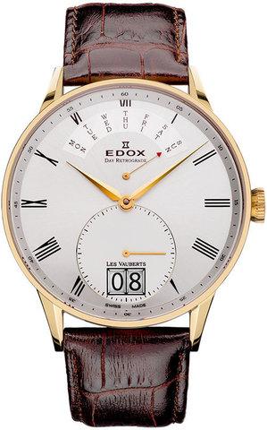 Купить Наручные часы Edox Les Vauberts Quartz 34005  373J  AR по доступной цене