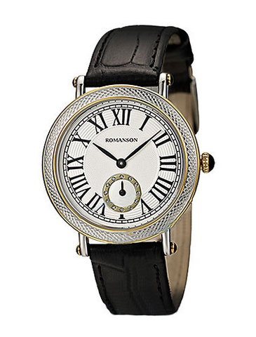Купить Наручные часы Romanson RL1253BLWBK по доступной цене