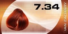 7.34 Золотисто-медный блондин IAN ZACHARY