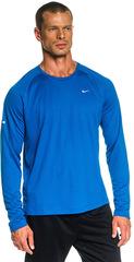 Мужская беговая футболка Nike Miler LS UV (519700 418)