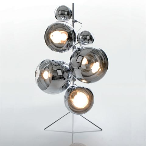 торшер Mirror Ball Tripod Stand