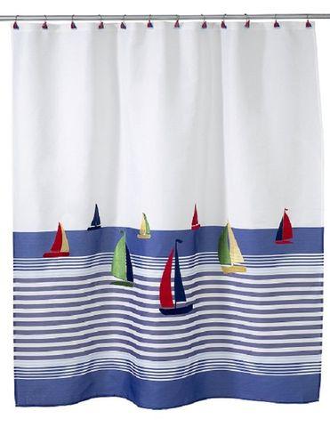 Элитная шторка для ванной детская Regatta от Avanti