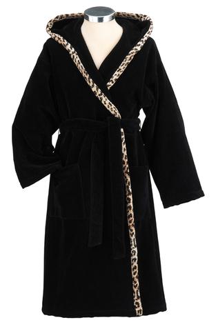 Элитный халат шенилловый Wangari Paul Uni 10 schwarz от Feiler