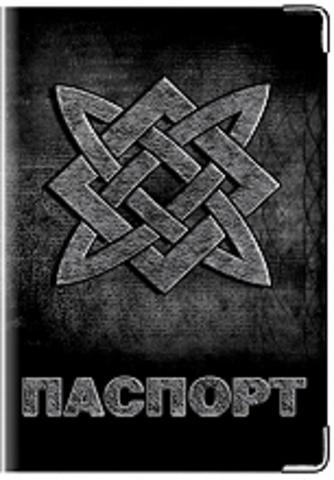 """Обложка для паспорта """"Звезда Богородицы"""""""