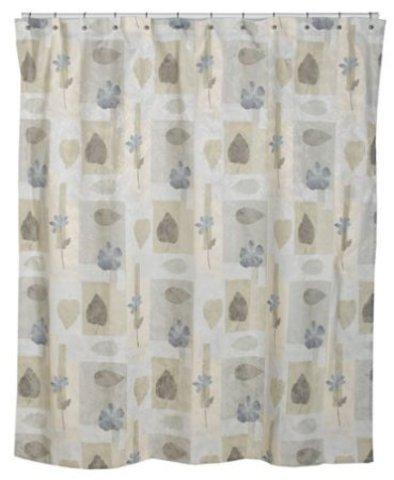 Элитная шторка для ванной Spa Leaf от Croscill Living