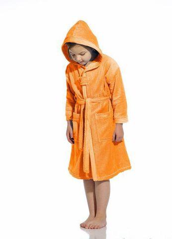 Элитный халат детский махровый Troppi Apollo оранжевый от Vossen