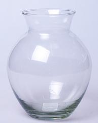 Простое стекло ваза малая