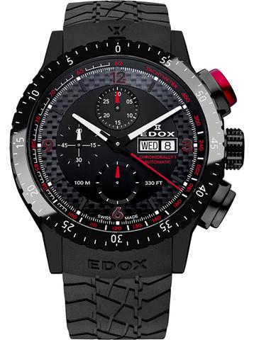 Купить Наручные часы Edox Chronorally 1 Chronograph Automatic 01118  37 NR NRO по доступной цене