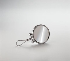 Зеркало косметическое ручное Windisch 99134CR 3X