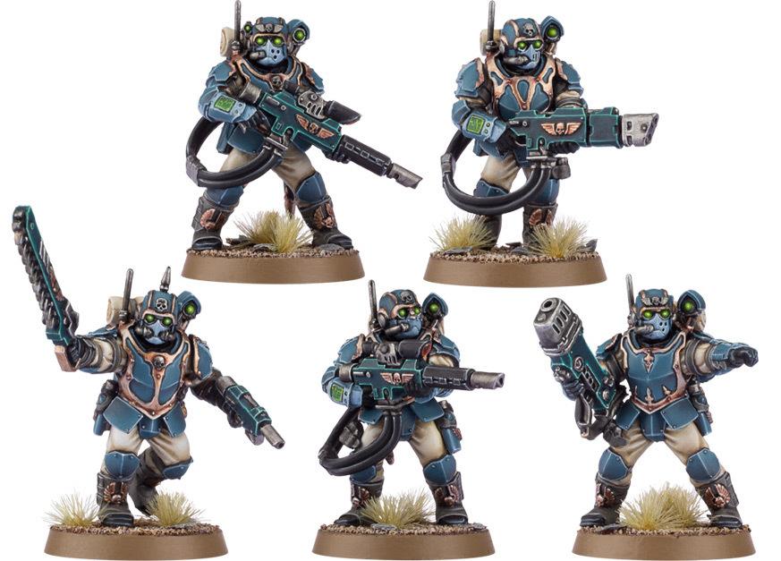 Militarum Tempestus Scions / Scions Command Squad