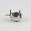 Сеттинг - основа - подвеска для страза 8 мм (39ss) (оксид серебра)
