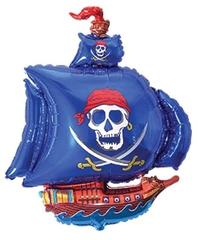 Пиратский корабль (синий),  F 41