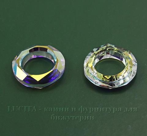 4139 Подвеска Сваровски Cosmic Ring Crystal AB (20 мм)