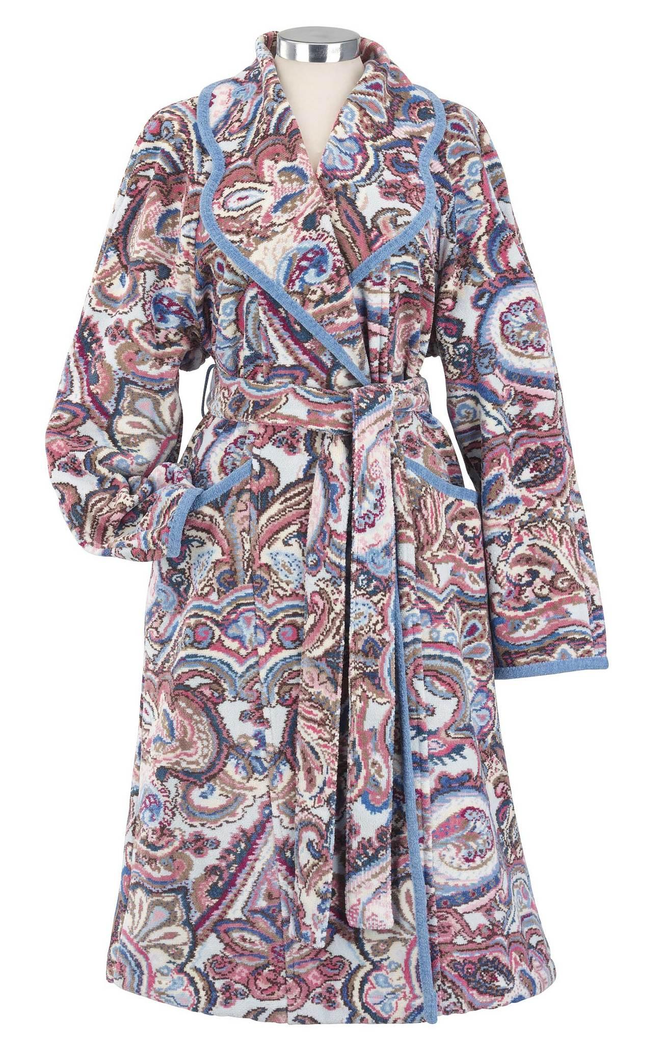 Элитный халат шенилловый Maharani sky Lydia от Feiler