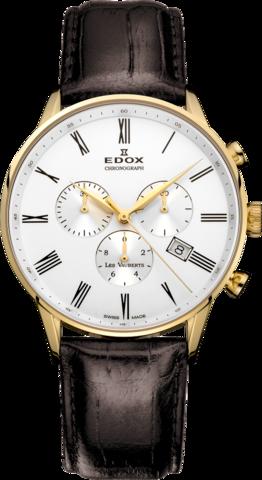 Купить Наручные часы Edox Les Vaubertz Chronograph 10408  37JA AR по доступной цене