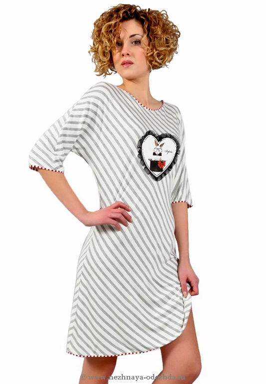 Женская сорочка свободного кроя Pepita (Домашние платья и ночные сорочки)