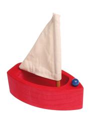 Лодка с парусом малая красная (Grimm's)