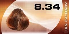 8.34 Светлый золотисто-медный блондин IAN ZACHARY