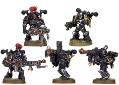 Chaos Space Marine Havocs. Весь отряд