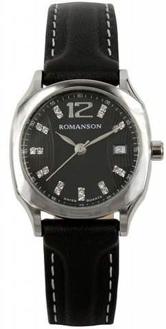 Купить Наручные часы Romanson TL1271LWBK по доступной цене