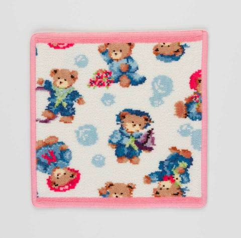 Полотенце детское 25x25 Feiler Little Skippers 123 розовое