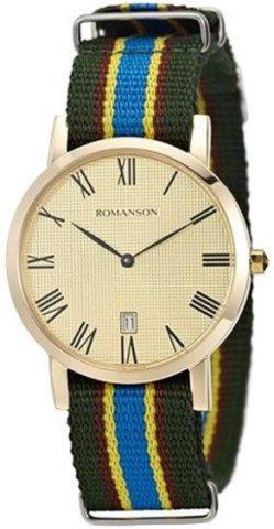 Купить Наручные часы Romanson TL3252UUGGD по доступной цене