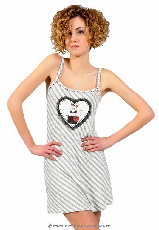 Короткая ночная сорочка Pepita (Домашние платья и ночные сорочки)