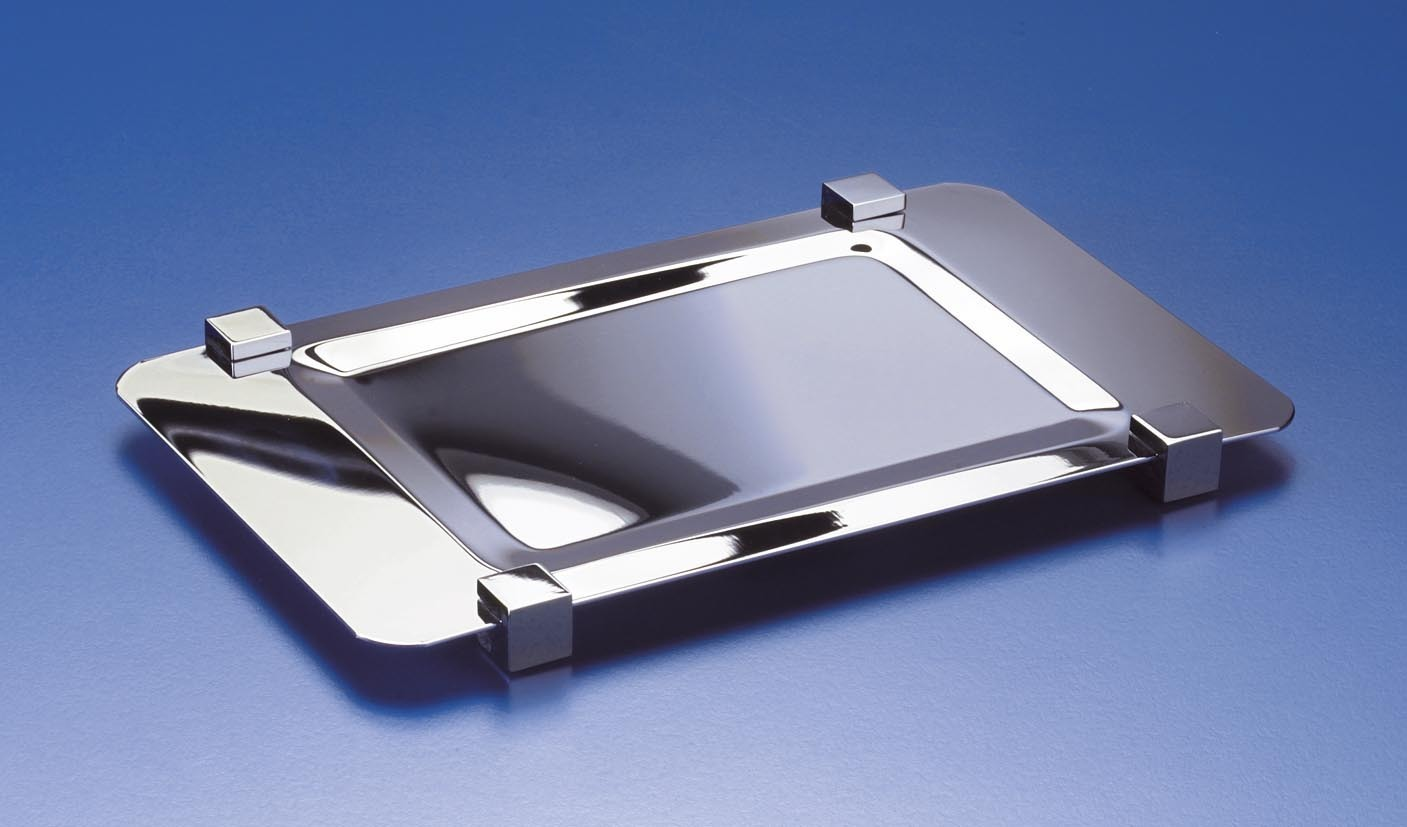 Подставки для предметов Поднос-подставка для предметов Windisch 51217CR Aqua podnos-51217-aqua-ot-windisch-ispaniya.JPG