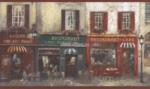 Бордюр Aura Kitchen Story 2  AW77390, интернет магазин Волео