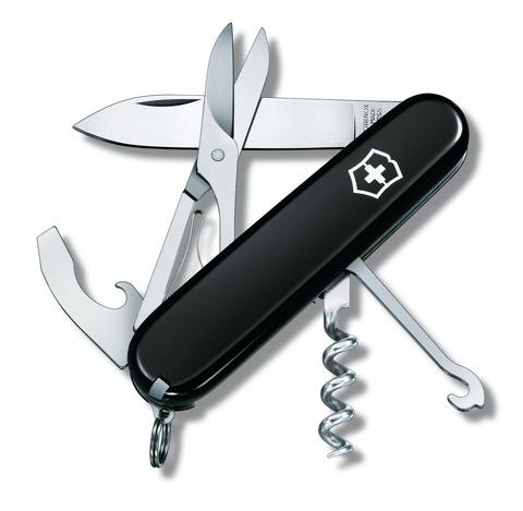 Офицерский нож Compact Black Victorinox (1.3405.3)