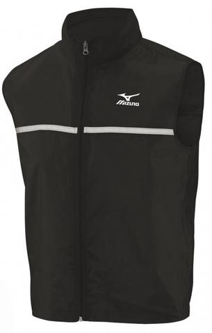 Жилет беговой Mizuno Running Vest чёрный